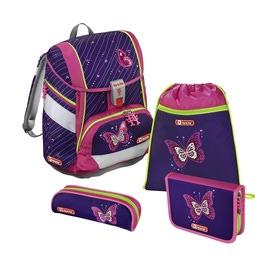 Школьный ранец Hama Step by Step 2in1 Shiny Butterfly с наполнением 138955