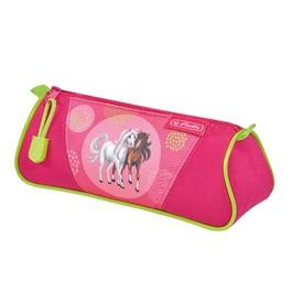 Пенал-косметичка Herlitz Triangular Spring Horses 50014460