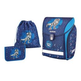 Школьный ранец Herlitz MIDI NEW PLUS Blue Dino с наполнением 50013739-1