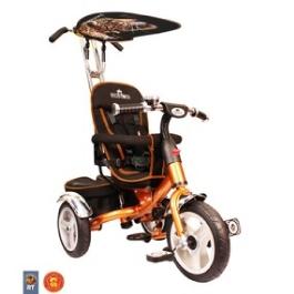 3-х колесный велосипед Rich Toys Lexus Trike original VIP 2013 bronza с надувными колесами